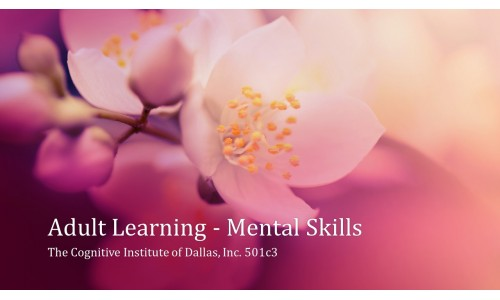 Adult Learning - Mental Skills