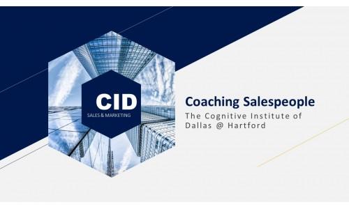 Coaching Salespeople