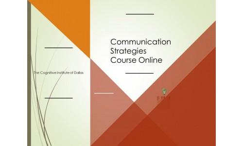 Communication Strategies Course Online