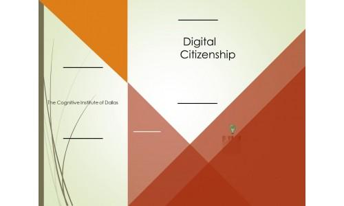 Digital Citizenship Course