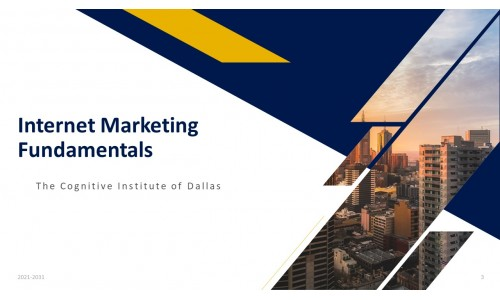 Internet Marketing Fundamentals