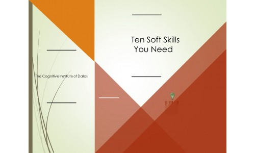 Ten Soft Skills You Need