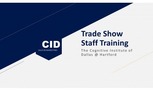 Trade Show Staff Training